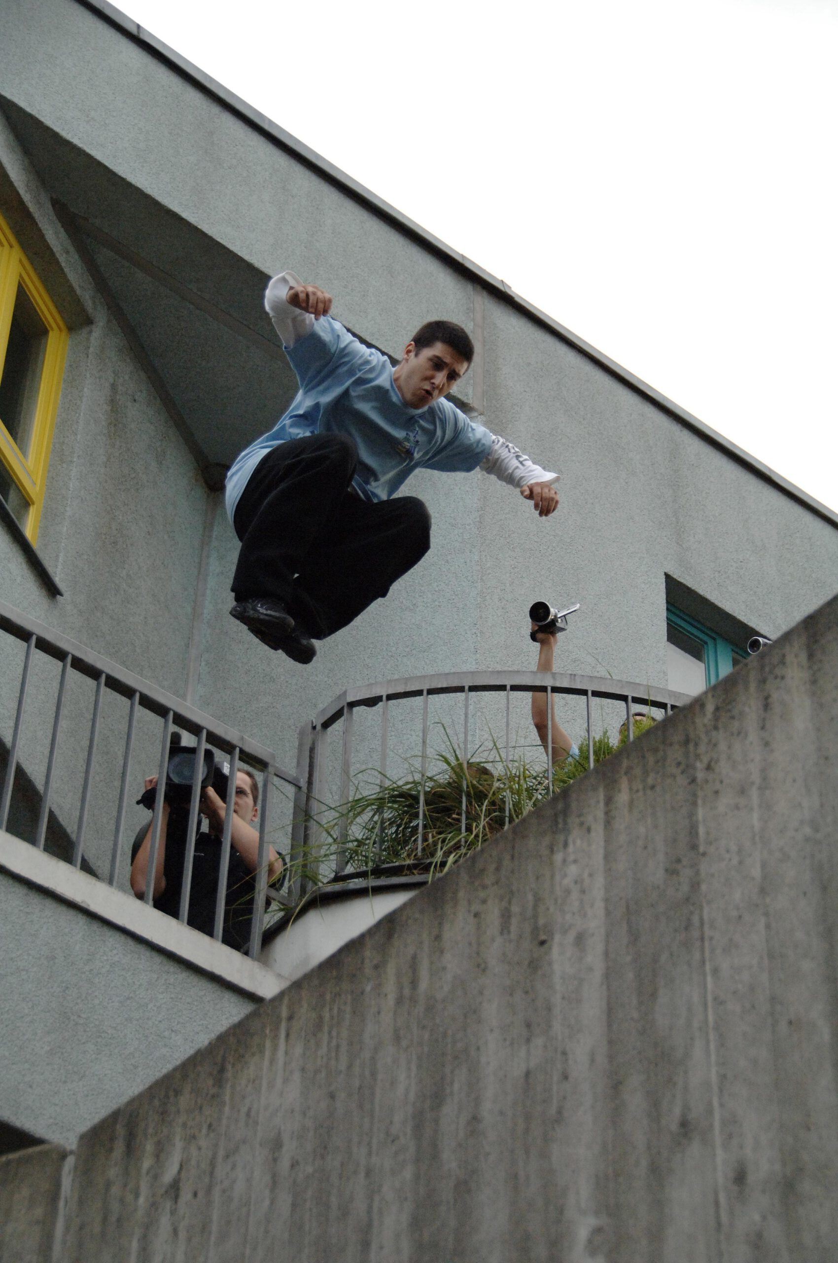 David Belle - Parkour Founder fotografiert by Karsten Uhlmann